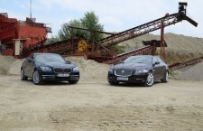 Jaguar XJ vs BMW Seria 7
