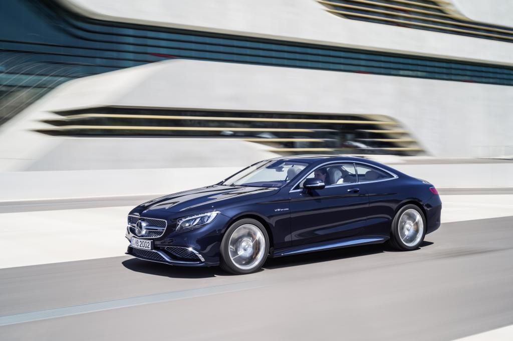 Mercedes-Benz S63 AMG Coupe – forma perfecțiunii