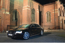 Test Drive Audi A8: Nava Amiral
