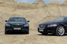 Test Comparativ: BMW Seria 7 vs Jaguar XJ – Jos Pălăria