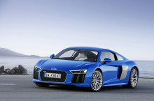 Audi R8 V10 demarează spre Geneva
