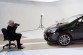 Karl and Choupette Lagerfeld joined forces for the new Opel Corsa calendar shoot in Paris