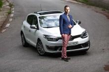 Lucian Adochiței și Renault Megane: Design your life