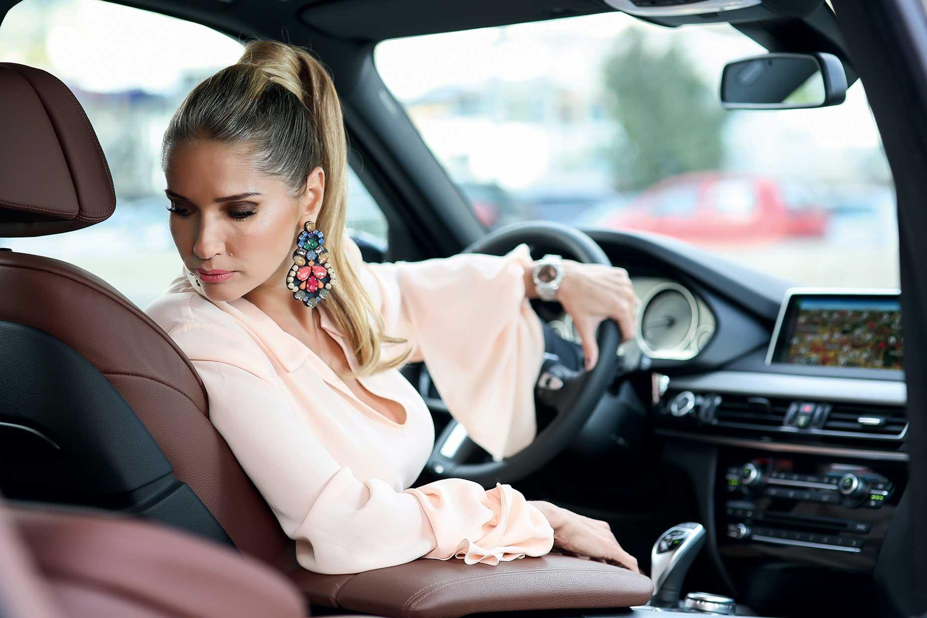 Ileana Badiu Amp Bmw X5 Perfect Match Gentleman S Car