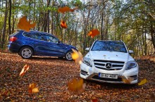 Test Comparativ BMW X3 vs Mercedes-Benz GLK