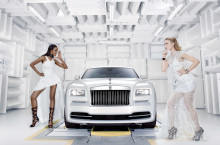 "Rolls-Royce Wraith ""Inspired by Fashion"" – Incursiune în lumea haute-couture"