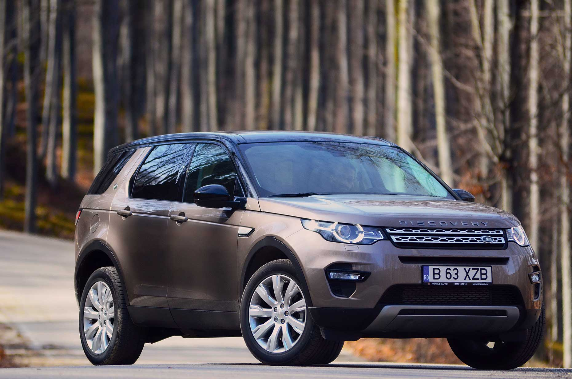 test drive land rover discovery sport pasiune. Black Bedroom Furniture Sets. Home Design Ideas