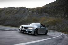 BMW M4 lateral fata