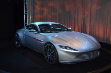 Aston Martin DB 10 la Salonul Auto din Los Angeles