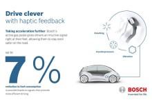 Bosch ne prezintă pedala de accelerație mai deșteaptă decât șoferul