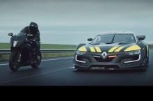 Renault Sport RS 01 încearcă uniforma de poliție