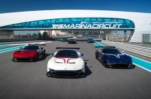 Aston Martin Vulcan și-a exaltat clienții pe circuitul de Formula 1 din Abu Dhabi