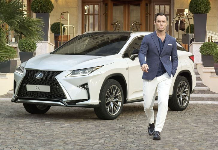 Jude Law creatively partners with Lexus Europe for 'The Life RX'