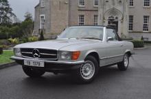 Un Mercedes-Benz 350 SL care i-a aparținut lui Ceaușescu a fost licitat cu aproape 50.000 de euro