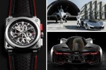 Bell & Ross AeroGT, supercarul născut din imaginația unui orologier