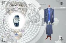 Helvetia Luxury Watches și Alexandru Ciucu ne oferă o lecție de armonie între costumul impecabil și ceasul asortat acestuia