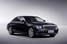 Langversion der neuen E-Klasse LimousineLong-wheelbase version