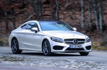 Test Drive Mercedes-Benz Clasa C Coupe 220 d