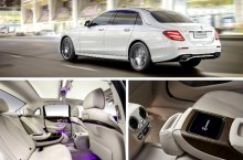 Mercedes-Benz Clasa E cu ampatament lung depășește Clasa S în spațiu pentru pasageri