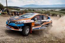 Echipajul Alex Filip/Bogdan Iancu a încheiat prima zi la Acropolis Rally pe locul 3 în ERC3