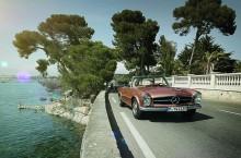 VIDEO: Mercedes-Benz închiriază modele SL clasice pentru vacanțe de vis prin Europa