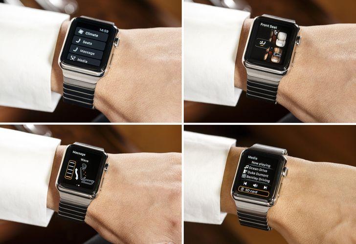 Bentley's new Bentayga Apple Watch App