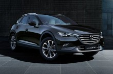 Mazda CX-4, alias CX-5 în costum de  coupe