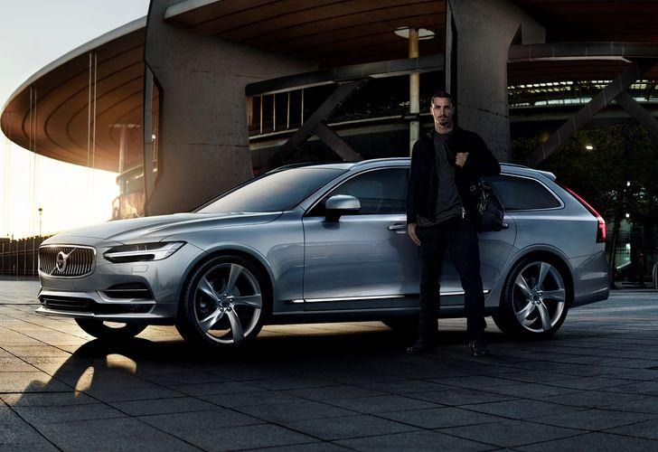 VIDEO: Zlatan Ibrahimovic, vedeta spotului publicitar pentru noul Volvo V90
