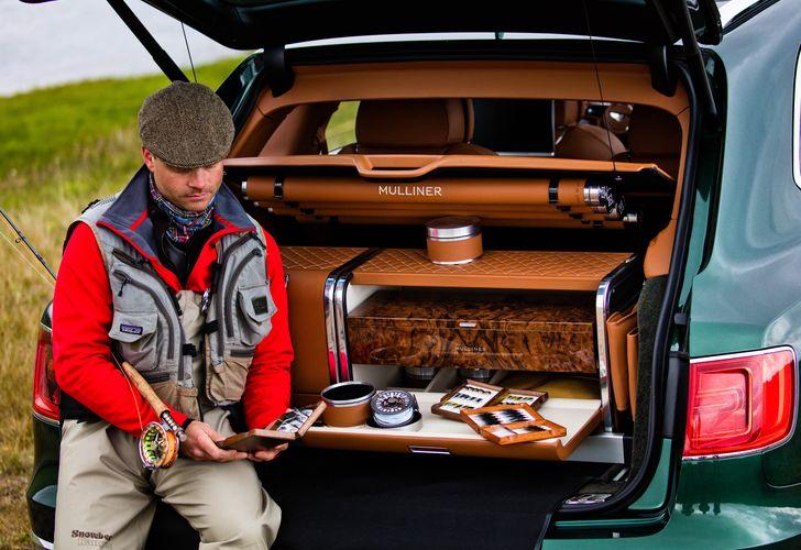 Bentley Bentayga transformă pescuitul într-o experiență premium