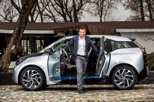 Florin Mergea BMW Photoshoot
