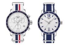 Ceasurile Tissot Quickster se asortează cu vara prin cromatica albă și curelele NATO