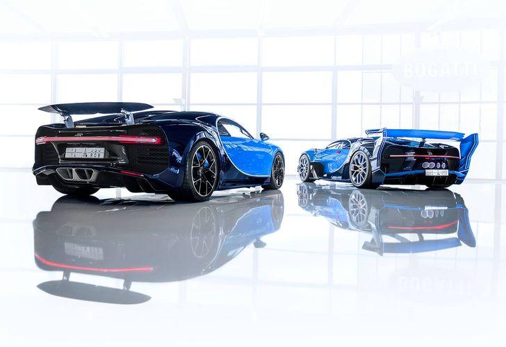Bugatti a vândut unui client din Arabia Saudită primul Chiron expus la Geneva și conceptul Vision Gran Turismo prezentat la Frankfurt