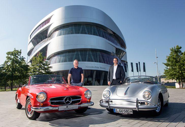Mit Museumsticket von Porsche vergünstigter Eintritt ins Mercedes-Benz Museum