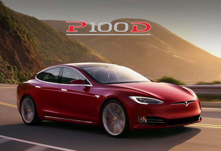 OPEN Tesla Model S P100D