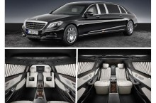 Mercedes-Maybach S 600 Pullman Guard: 5,1 tone de lux blindat pentru 1,4 milioane de euro