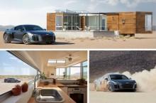 VIDEO: Airbnb oferă o vacanță petrecută la volanul supersportivei Audi R8 V10 plus în deșertul Nevada