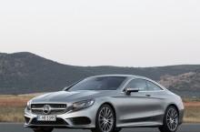 Mercedes Benz S Coupe fata
