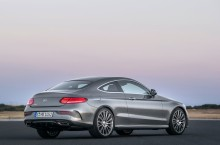 Mercedes Benz C Coupe spate