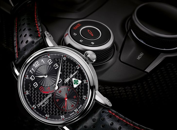 Chronoswiss Regulator Alfa Romeo Quadrifoglio Edition – Un tribut dedicat berlinei sport Giulia Quadrifoglio