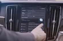VIDEO: Volvo introduce Skype for Business pentru seria de modele 90