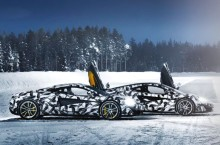 Vacanță de iarnă perfectă: Două zile de distracție pe gheață la volanul unui McLaren 570S