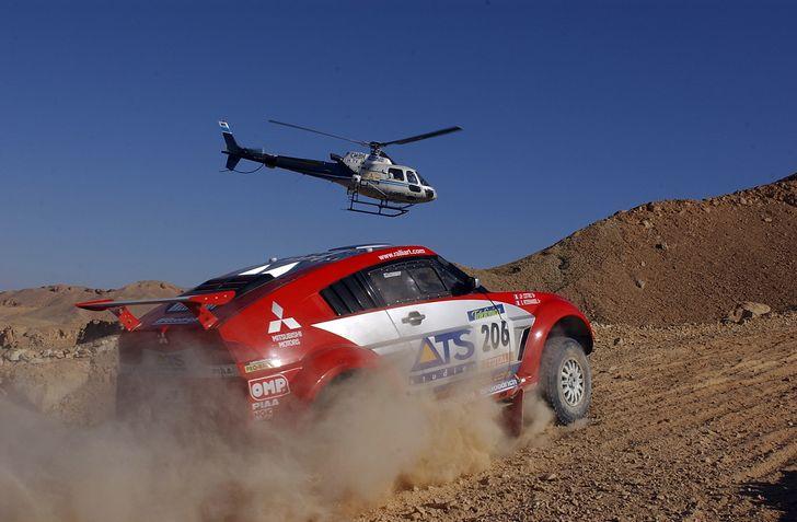 Paris-Dakar 2003 Gilles levent