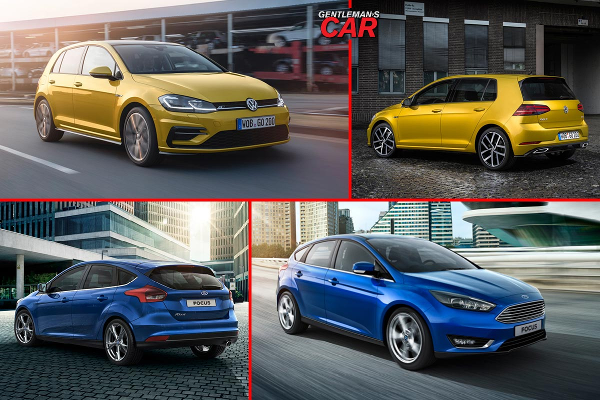 Noul VW Golf vs Ford Focus