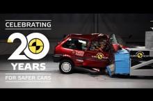 VIDEO: Euro NCAP ne dezvăluie cum a evoluat siguranța mașinilor în ultimii 20 de ani