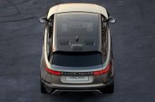 Velar va fi al patrulea membru al familiei Range Rover