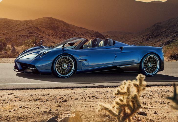 Pagani Huayra Roadster – Mai mult o operă de artă decât o mașină