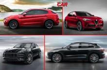Alfa Romeo Stelvio vs Porsche Macan – Care este cel mai sportiv SUV compact?