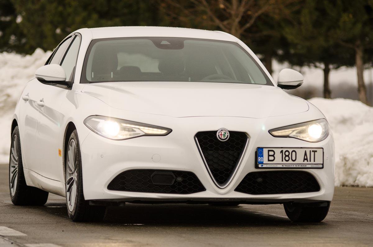 Test Alfa Romeo Giulia