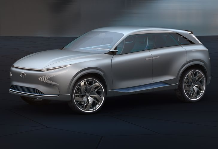 Hyundai FE Fuel Cell prefigurează un SUV cu propulsie pe hidrogen pentru 2018