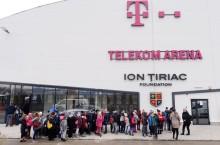 Un bilet la patinoarul Telekom Arena oferă acces gratuit la galeria Țiriac Collection